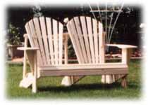 Double Adirondack Chair. Adirondack Love Seats.